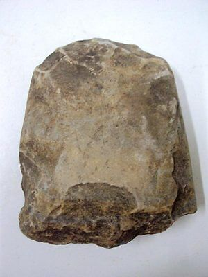 Ancient Stone Axe Neolithic Paleolithic Age Artifact Tool Prehistoric 5000 BC.