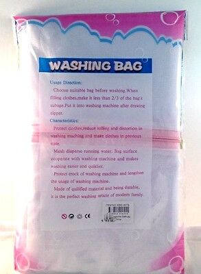 Laundry Washing Bag Protect Delicate Mesh Wash Bags for Clothing 60X70cm