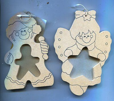 Christmas Ornament Decorations - Mr & Mrs Gingerbread