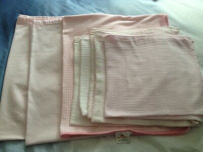 Job Lot Of Mothercare Sheets Bunnykins Blanket Muslin Cloths