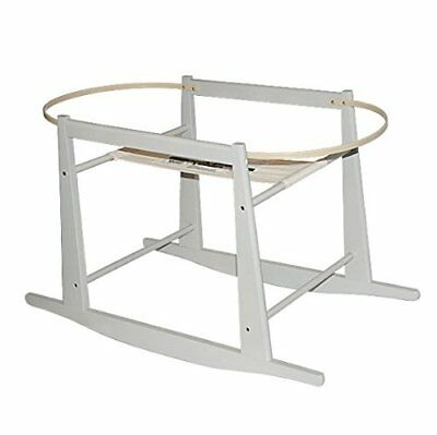 Jolly Jumper Moses Basket Rocking Stand - Grey