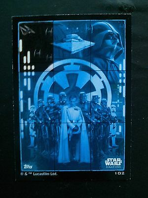 Star Wars Rogue One trading card - No 102
