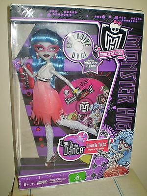 Monster High Dawn of the Dance Ghoulia Yelps Doll BNIB