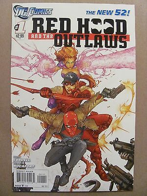 Red Hood and the Outlaws #1 NEW 52 DC Comics 2011 Series 9.6 Near Mint+