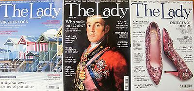 The Lady magazine x3 back issues