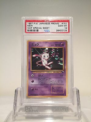 WHF (World Hobby Fair) Mew PSA 10 Japanese Promo