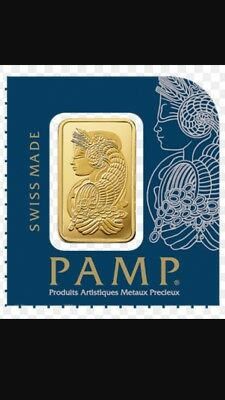 PAMP Suisse Fortuna Gold Bullion Bar 1g From Multi-gram (5 Available)