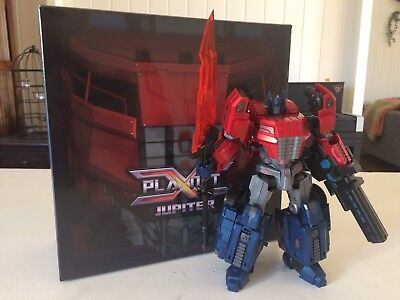 Transformers Planet X Jupiter Optimus Prime FOC Fall Of Cybertron Complete