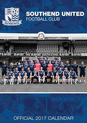 Official 2017 Southend United FC Calendar