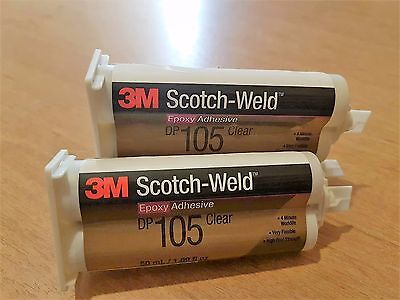SUPER SALE Adhesive DP105 3M™ Scotch-Weld™ DP105 Epoxy Adhesive Clear 50ml SALE
