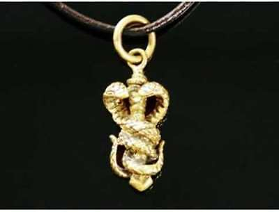 Amulet symbol of power on wealth and power + Bag + rope.
