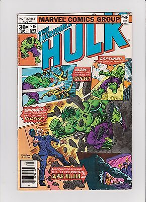 Incredible Hulk #215 & 222 (Bronze Age Marvel Comics) Ernie Chan Covers
