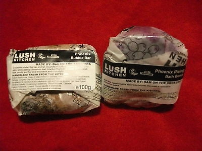 Lush Phoenix Rising Bath Bomb & Lush Phoenix Bubble Bar