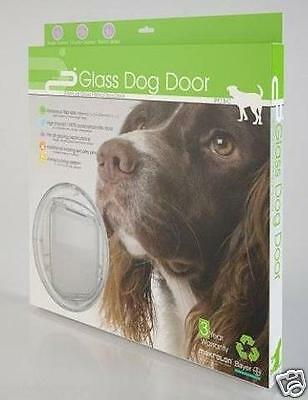 NEW A++ Dog Door, A Far Superior product - 4 Way Locking, Quieter, Stronger, PC3
