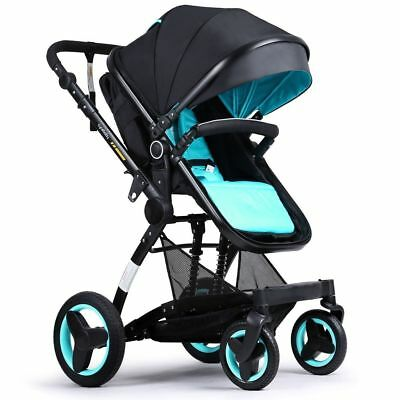 Toddler Baby Stroller Jogger Carriage Compact Infant Strollers with Tray Pram