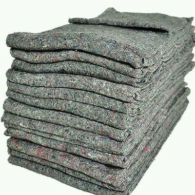 1 New 200cm x 150cm Premium Removal Blankets collect from rugeley  no delivery
