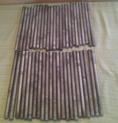 """Stainless Steel All Thread 5/8""""x10 3/4"""" with nuts and washers"""