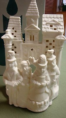 Party Lite Village Carolers Tealight Candle Holder