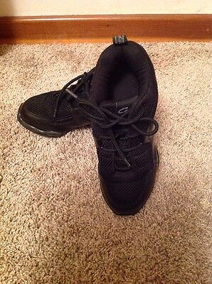Capezio Black Dance Sneakers/hip Hop Sneakers Size 5