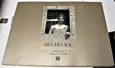 photography book by Manuel Alvarez Bravo MUCHO SOL first edition photographer