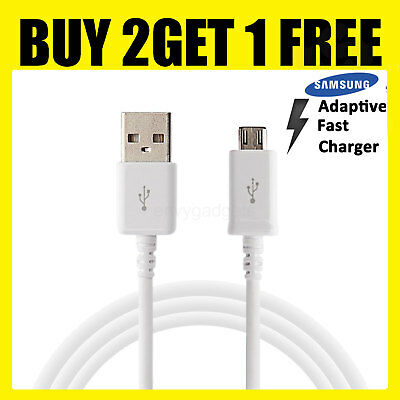 Fast Charging USB Data Cable For Samsung Galaxy S7 S6 EDGE NOTE 4 5 J5 J3 A5