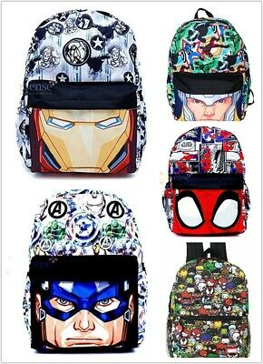 Disney Marvel Large Allover Print School Backpack