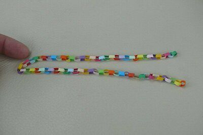 1/12th dolls house - PAPER CHAINS FOR CHRISTMAS - SG