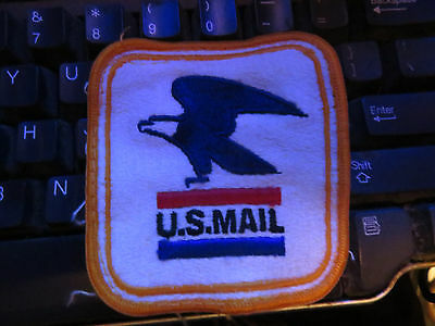 L@@k! Vintage United States Post Office Mailman Carrier Patch 3.25 X 3 U.s. Mail