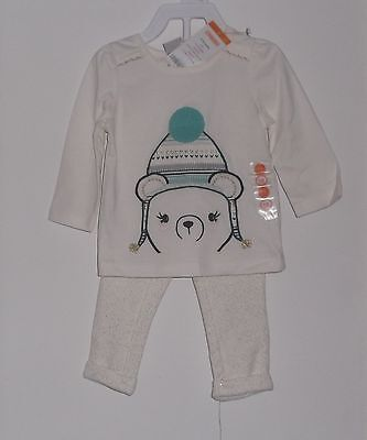 NWT Gymboree baby Girl 2 Piece  Cotton  Shirt & Pants Set Size 6 - 12 Months