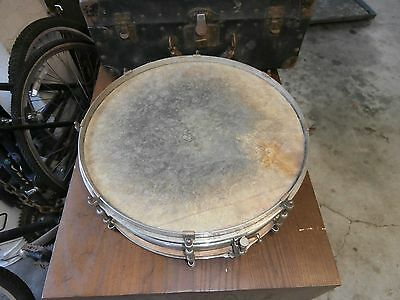 """Vintage 1920s/1930s Ludwig 'Concert Master"""" Model 14""""X5"""" Snare Drum, with case"""