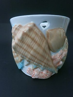 Vintage Fitz and floyd Shell Ceramic Cup