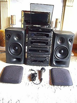Quality Technics Hi-Fi System with Speakers and Bush Turntable *Made in Japan*