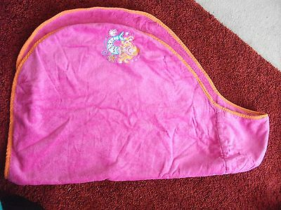 Mothercare hooded pink towel