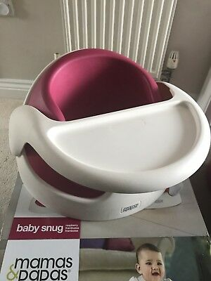 Mamas And Papas baby Snug support seat