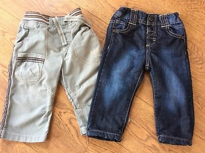 Baby Boys 9-12 Months Jeans And Trousers