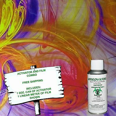 Hydrographic Film Water Transfer Hydro Dip 6Oz. Activator Pretty Dip Kit