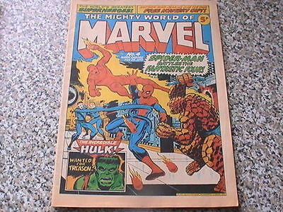 The Mighty World Of Marvel # 4   1972