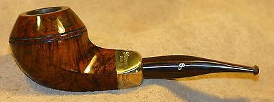 """Pipe Estate """"Peterson's"""" Pipe of the Year 1997 Army Mount Silver and Cumberland."""