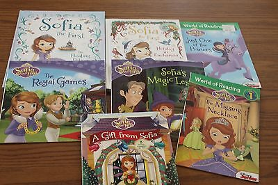 7 Sofia the First Picture Books Readers Lot Disney