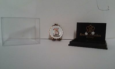 Reutter Mini Porcelain Plate With Easel (Germany)