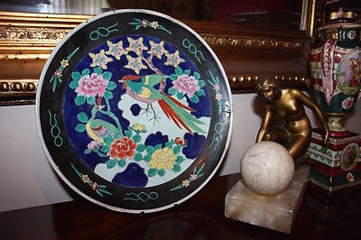 Antique Chinese Stunning Large Platter Plate