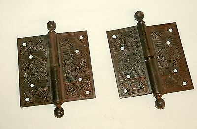 Antique Victorian Door Hinges
