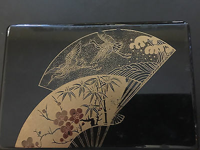 Antique Japanese Lacquer Jewelry Box