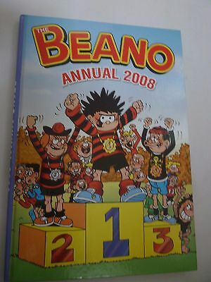Beano Annual 2008  Hardback Book DC Thomson Comics