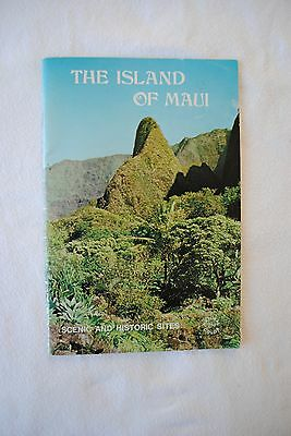 Vintage Hawaii 1974 Color Booklet The Island of Maui