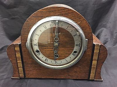Vintage British Made Perivale Westminster Chime Mantle Clock