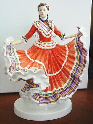 Royal Doulton Dances of the World MEXICAN HAT DANCE Figurine HN5643 LTD ED -NEW!