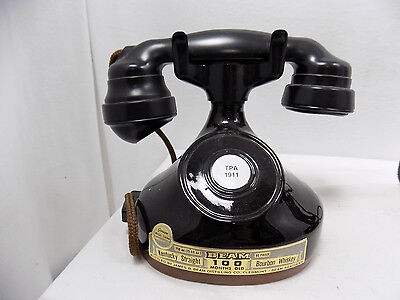 Jim Beam 1928 French Cradle Telephone Whiskey Liquor Decanter Bottle 1979 Regal