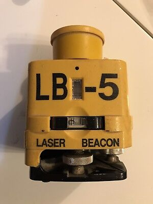 Laser Alignment LB-5 Laser Beacon with Rod Eye