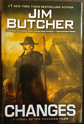 SIGNED & DATED CHANGES by Jim Butcher (Hardcover 1st Edition, 1st  Printing)
